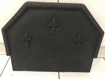 Cast Iron Backplate Fire Back For Fire Grate Basket