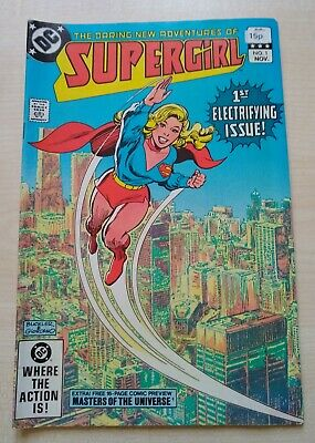 DC Comics: The Daring New Adventures of Supergirl Issue 1