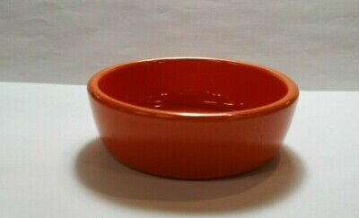 Vintage FIESTA RADIOACTIVE RED CENTER Relish Insert 1930s excellent condition