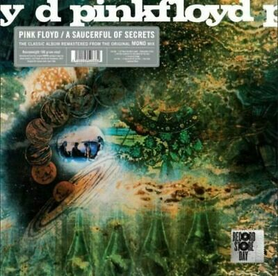 Pink Floyd A Saucerful Of Secrets Vinile Lp 180 Grammi Mono Rsd 2019 Nuovo