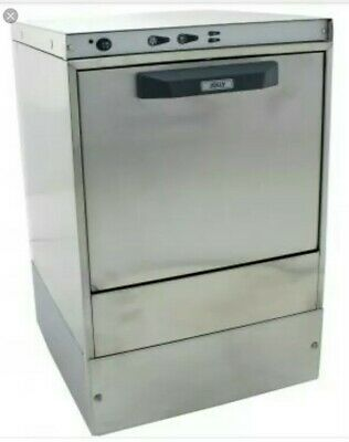 ^ Jolly Table Top Stainless Steel COMMERCIAL Glass Washer 400mm 16 pint 70:21