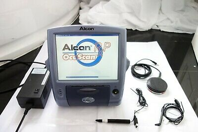 Alcon Ocuscan Rxp Ophthalmic Touch Ultrasound Eye Pachymeter Biometry A-Scan Uk