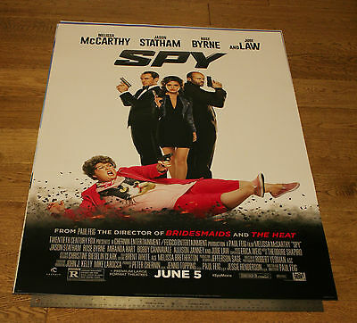 SPY *ORIGINAL 2015 Movie Film POSTER ADVANCE (STRATHAM LAW) *BUY 1 POSTER GET 1