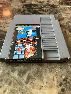 Super Mario Bros. / Duck Hunt Nes Nintendo Tested Works
