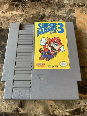 Super Mario Bros 3 Cart Only Nes Nintendo Tested Work