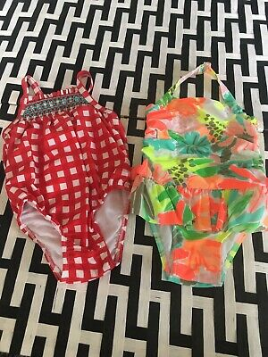 #17 Cat & Jack  Of 2 Swimsuits Sz 18 Months NWOT