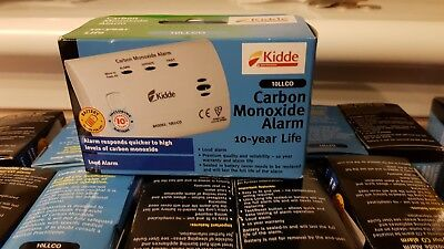 KIDDE 10LLCO CARBON MONOXIDE ALARM CO ALARM BRAND NEW 10 year guarantee
