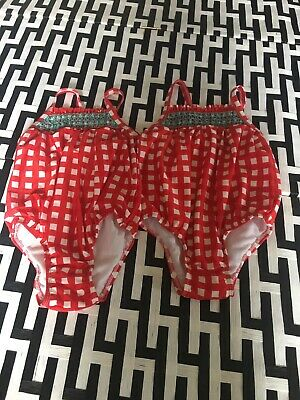 #17 Cat & Jack  Of 2 Swimsuits Sz 4 NWOT