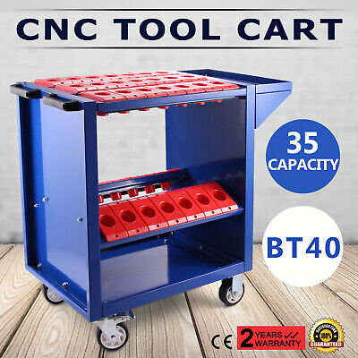 BT40 CNC Tool Trolley Cart Holders Toolscoot Milling Rolling NMBT40 NEWEST