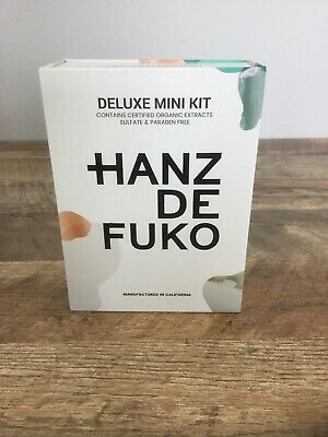 Hanz De Fuko Deluxe Mini Kit Travel Size Hair Products Waxes NEW