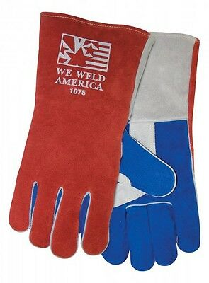 Tillman 1075 Large Stick Welding Gloves We Weld America Premium Cowhide 1 Pair