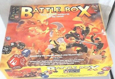 Dragon Dice Battle Box Board Game Vgc