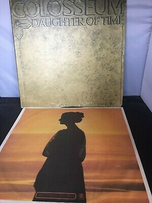 Colosseum Daughter Of Time Lp Vinyl Record Original Us Dunhill G/f Sleeve