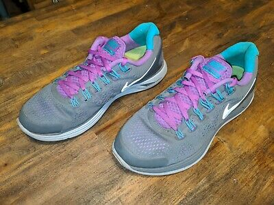 f868fda4e4cd8 NIKE LUNARGLIDE 4 Womens Running Shoes 524978-707 US Size 8 -  45.00 ...