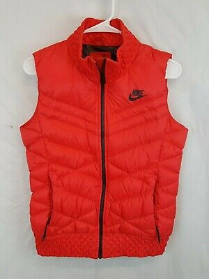 e7b43880d81d NIKE WOMENS CASCADE Down Puffer Quilted Poncho Jacket Black Feather ...