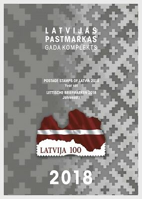 LATVIA 2018 Year Set 2018 - Year Collections