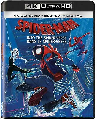Spider-Man: Into The Spider-Verse - 4K Ultra HD UHD + Blu-ray + Digital