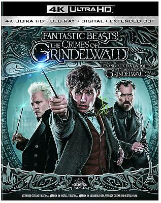 Fantastic Beasts The Crimes of Grindelwald - 4K Ultra HD UHD + Blu-ray + Digital
