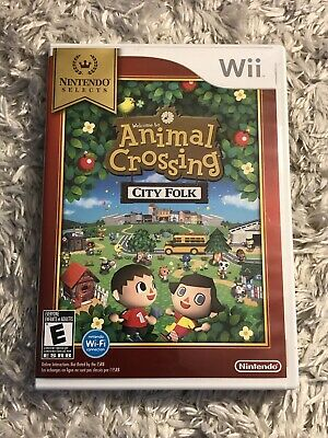 Nintendo Selects Animal Crossing: City Folk (Nintendo Wii, 2008) Complete
