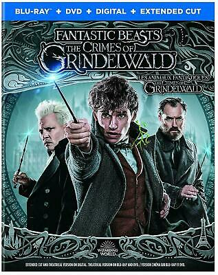 Fantastic Beasts The Crimes of Grindelwald - Blu-ray + DVD + Digital w/Slipcover