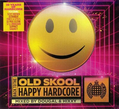 DOUGAL/HIXXY/VARIOUS - Back To The Old Skool: Happy Hardcore - CD (mixed 3xCD)