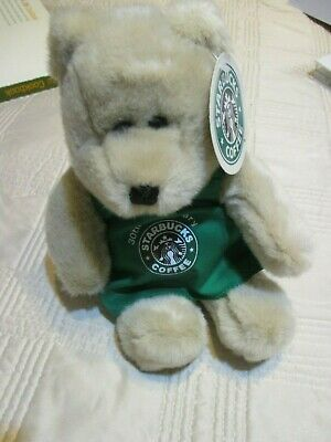 Starbucks Bearista Plush Toy Bear 30th Anniversary NEW 2001 15th Ed. FREE SHIP