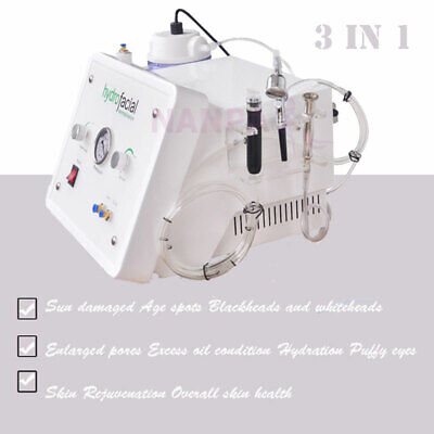 Water Jet Oxygen Spray Hydra Dermabrasion Skin Rejuvenation Hydropeel Machine