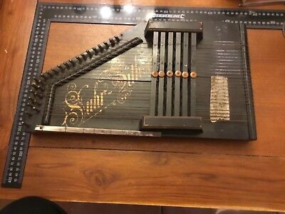 Rare ancienne Cithare Suhr Zither