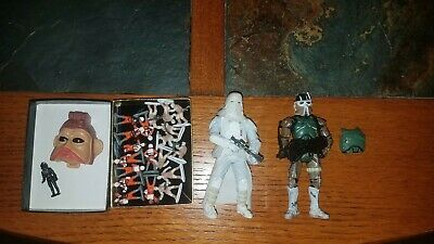 Star Wars AT-RT Driver Clone Trooper Snowtrooper Micromachines Lot
