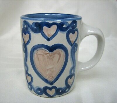 UNUSUAL MA Hadley Valentine's I LOVE YOU Mug with Hearts