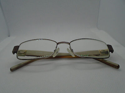 46fe59204e13 Coach Womens Eyeglasses Carolann 244 Tan 51-16-135 Rx Glasses Frames Flex  Hinge