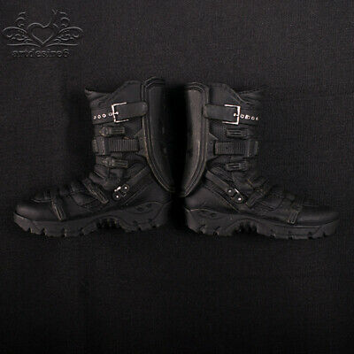 1:6 Soldier Shoes Army Combat The Avengers Falcon boots w/feet Not HT 12'' Body