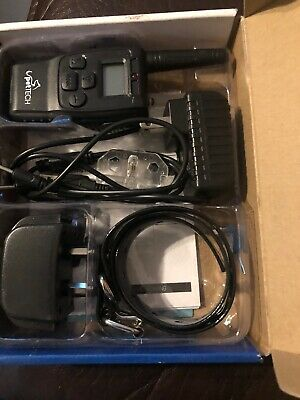 PetTech Remote Controlled Dog Training Collar Rechargeable Waterproof 1000 Range