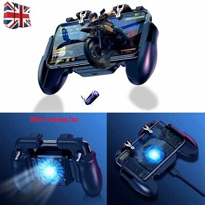 Wireless Gamepad  PUBG Fortnite Cooling Fan Controller Mobile Phone Android/IOS