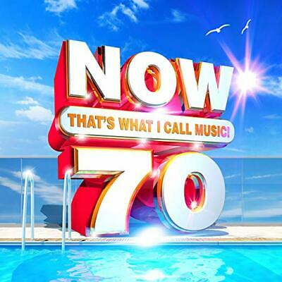 Now 70: That's What I Call Music Cd - Various Artists (2019) - New Unopened