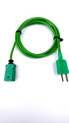 K type thermocouple extension leads made from top quality materials.