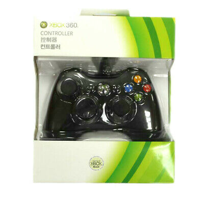 Microsoft Xbox 360 Wired Game Controller USB Joypad compatible with PC Windows