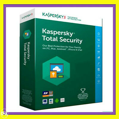 Kaspersky Total Security License 2019 1 PC 1Year Full USA Canada EU
