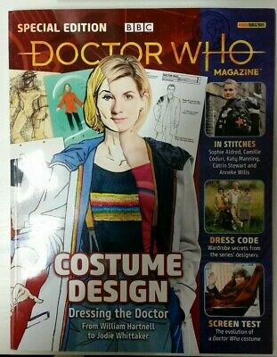 Dr Doctor Who magazine special edition Jodie Whittaker Costume Design 2019