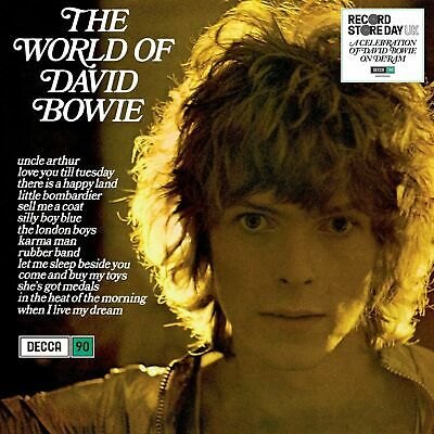 Bowie David The World Of David Bowie Vinile Lp 180 Gr. Rsd 2019 Nuovo Sigillato
