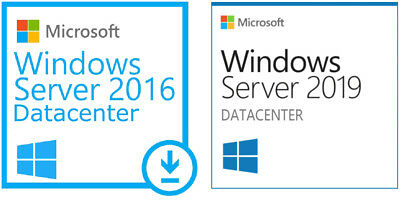 Microsoft Windows 2016 or 2019 Server Datacenter USB +Client Access Certificate