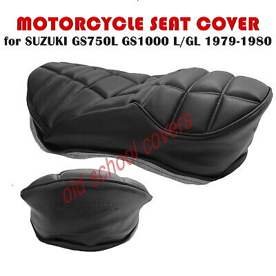 Suzuki Gs750L Gs1000L Gl 1979- 1980 Seat Cover With Embossed Logos