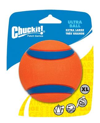 Chuckit! Dog Fetch Toy ULTRA BALL Durable Rubber Fits Launcher 3.5 inch X-LARGE