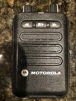 NEW MOTOROLA MINITOR VI 1 CHANNEL PAGER VHF 143-174 MHZ