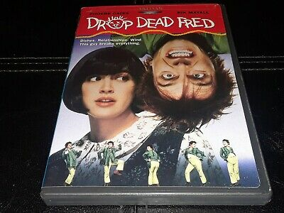 Drop Dead Fred (R1 USA DVD w/insert 1991) Phoebe Cates TESTED FREE SHIPPING