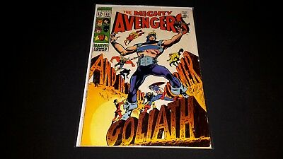 Avengers #63 - Marvel Comics - April 1969 - 1st Print