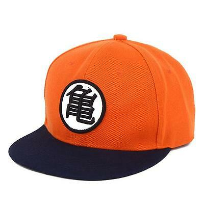 Goku COS Snapback Unisex Baseball Hip Hop Dancer Full Cap Adjustable LI