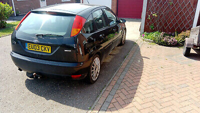 Panther Black Focus 2003 ST170 towbar spares/repair 150k engine+gearbox great