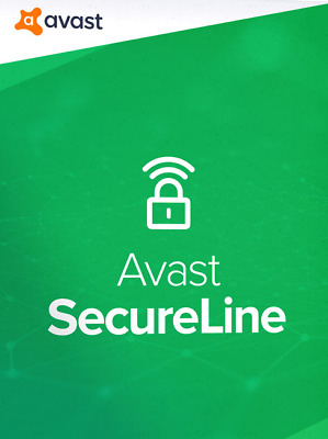 AVAST SecureLine VPN 2019 1 YEAR MULTI-DEVICES avast! UK