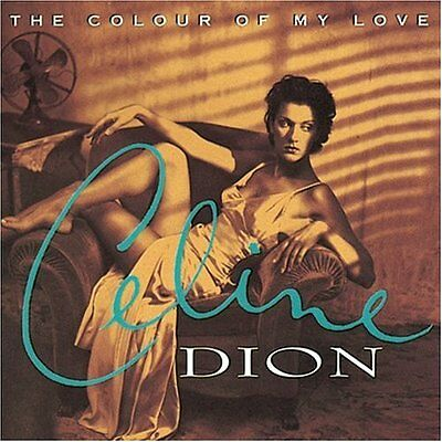 Celine Dion - The Colour of My Love (1993), Epic, CD